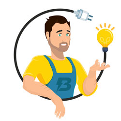 Bocquet Electricité – Logo
